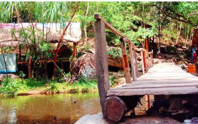 A peaceful day at Chrok La Eang Waterfall Community
