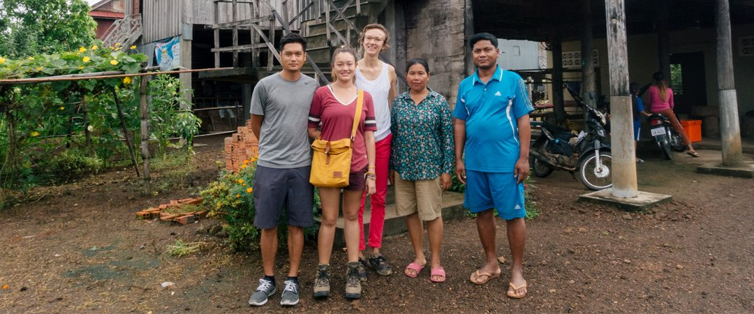 My visit to a real Cambodian village