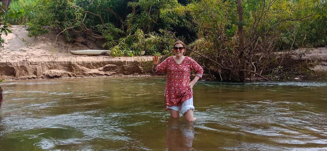 O'Russey Kandal, an idyllic swimming spot