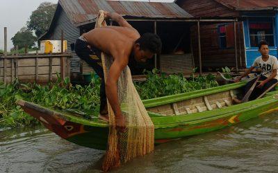 Birding adventure at Prek Toal floating village